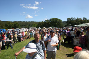 Crowd at Coniston Country Fair