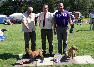 Terrier Show Winners at Coniston Country Fair