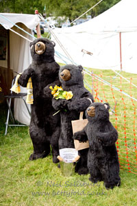 Honey Bears at Coniston Country Fair