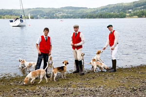 beagles at Coniston Water